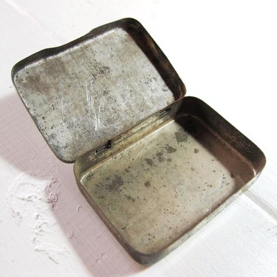 アンティーク TIN缶 レコード針