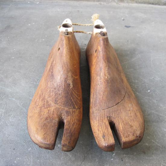 アンティーク シューモールド 靴木型