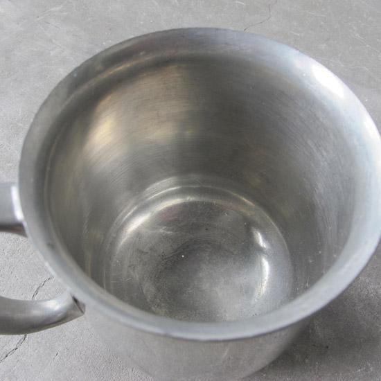 アンティーク マグカップ ピューター