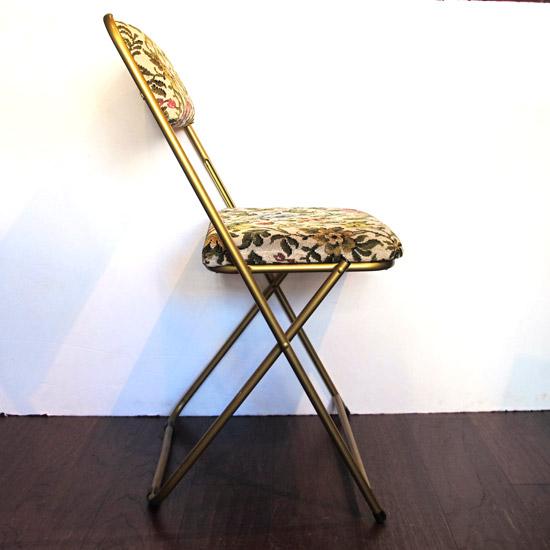 アンティーク パイプ椅子