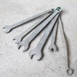 アンティーク スパナセット 工具