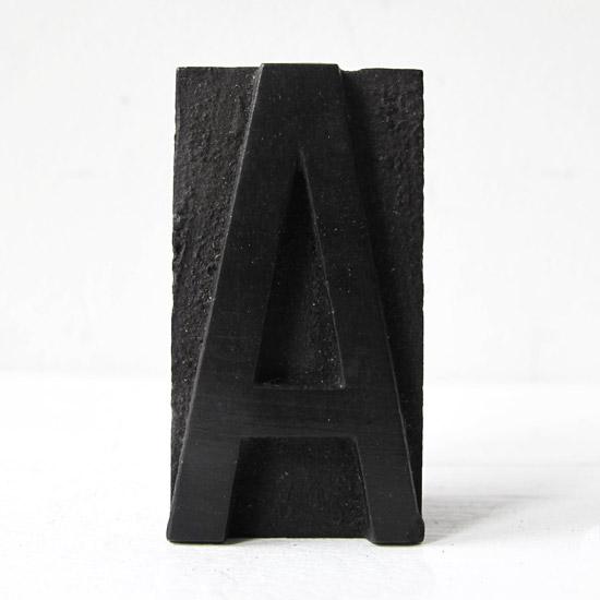 アンティーク スタンプ プリンターブロック