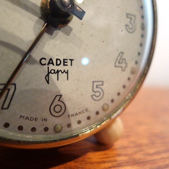 アンティーク 置き時計 CADET