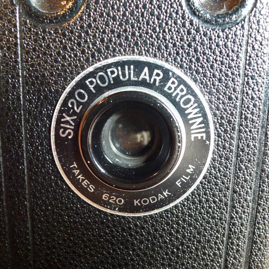 アンティーク カメラ Kodak Six-20 Popular Brownie