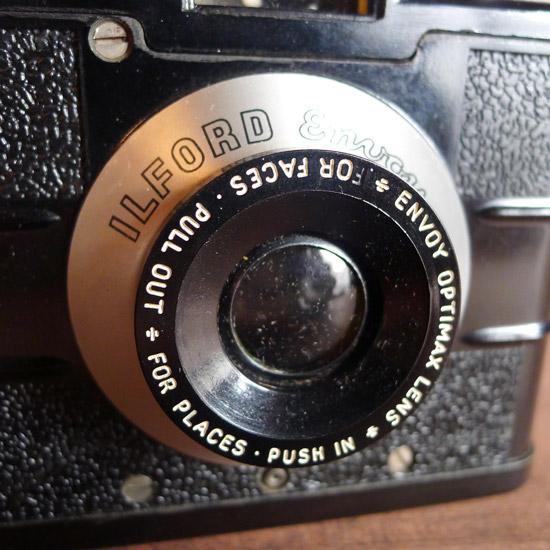 アンティーク ボックスカメラ Ilford Envoy