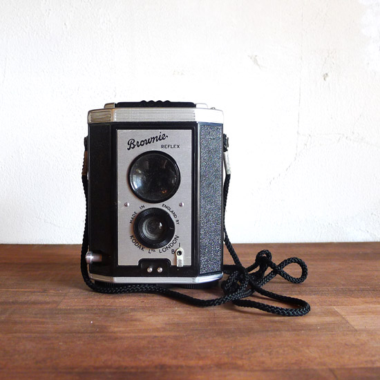 アンティーク カメラ Kodak Brownie Reflex UK model