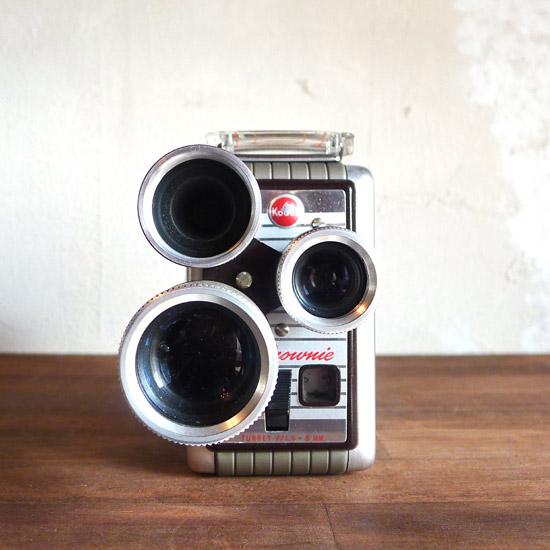 アンティーク ムービーカメラ Kodak Brownie Movie Camera Turret
