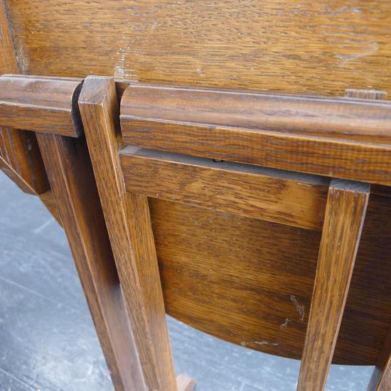 アンティーク 折りたたみサイドテーブル