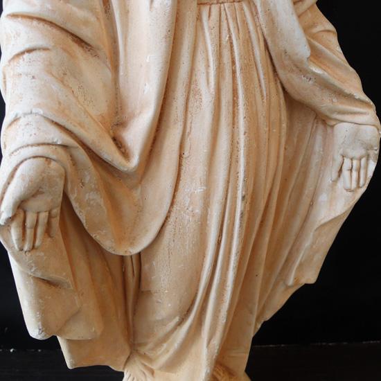 アンティーク 聖母マリア像