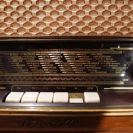 アンティーク真空管ラジオ