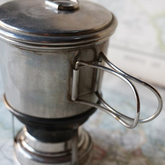 アンティーク キャンプ用携帯コンロ