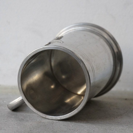 アンティーク ピューター マグカップ(uag1180-6)