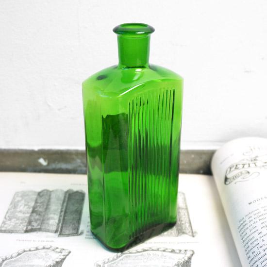 アンティーク ガラス薬ビン