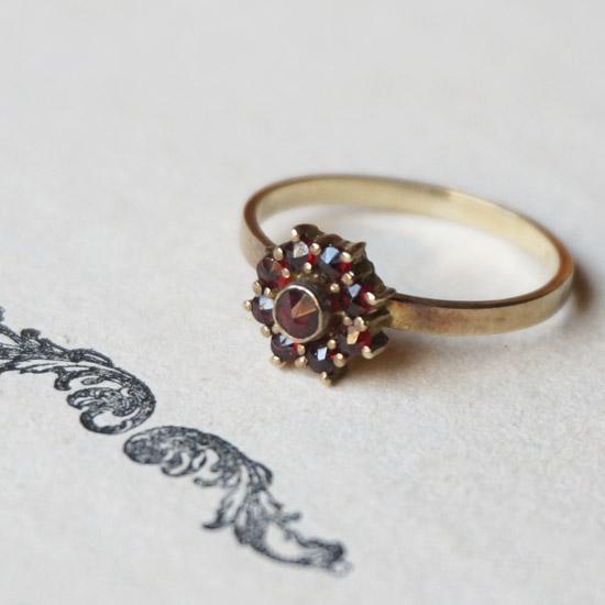 アンティーク コスチュームジュエリー 指輪