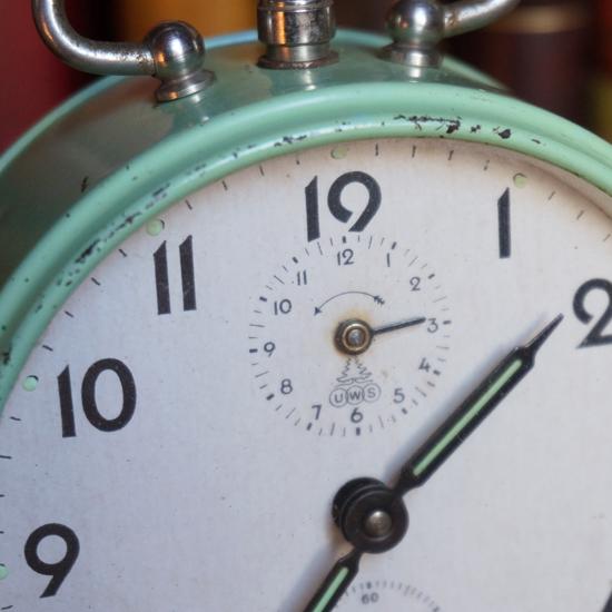 アンティーク 目覚まし時計