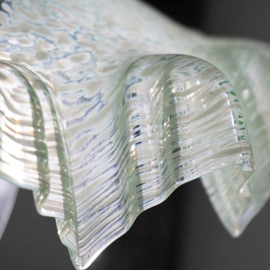 アンティーク ガラスランプシェード