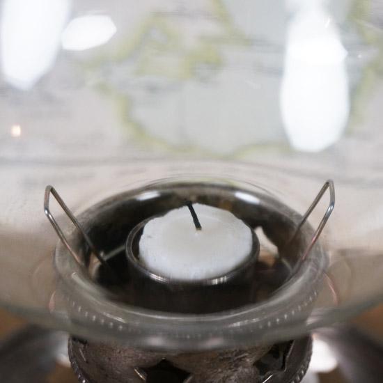 アンティーク ランプ キャンドルスタンド(uol1074-7)