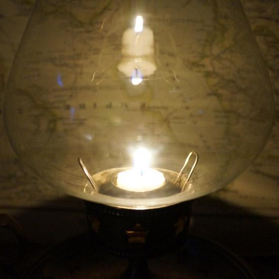 アンティーク ランプ キャンドルスタンド(uol1074-9)