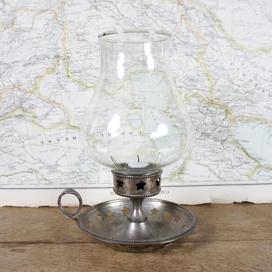 アンティーク ランプ キャンドルスタンド(uol1074)