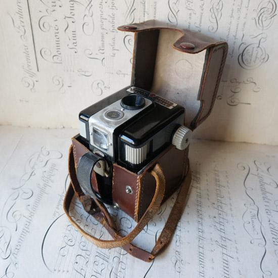 アンティーク ボックスカメラ Brownie Flash