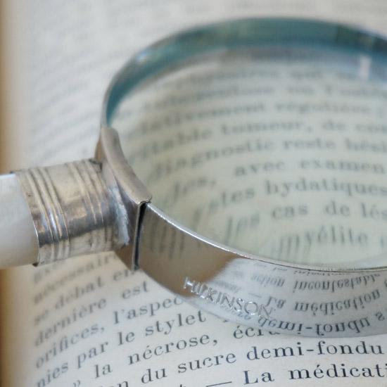 アンティーク 虫眼鏡 ルーペ