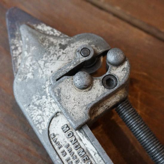 アンティーク パイプカッター 工具