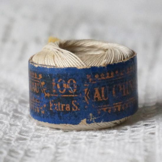アンティーク 糸 裁縫道具