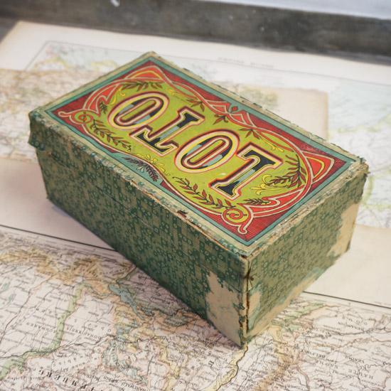 アンティーク 紙箱 ゲーム
