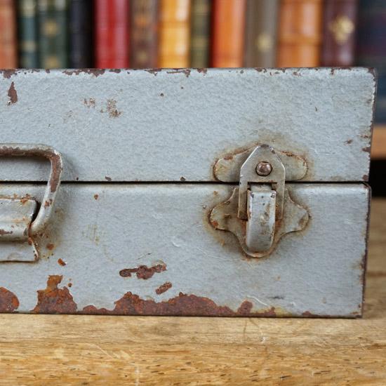 アンティーク ツールボックス 道具箱(uoo1390-8)