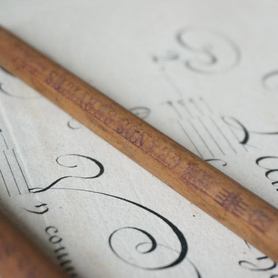 アンティーク 鉛筆 ペンシル