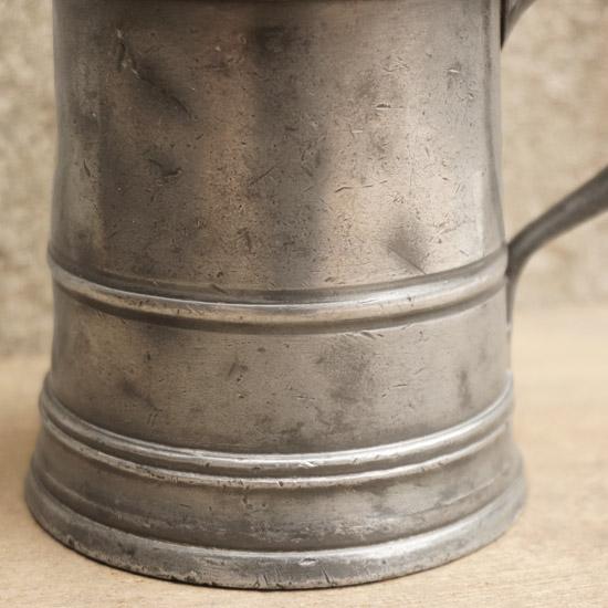 アンティーク ピューター マグカップ