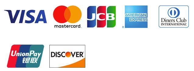 利用できるクレジットカード