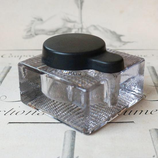 アンティーク インクボトル(Y-438)※キャップブラック